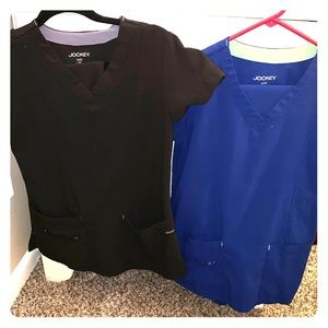 Two pairs of Jockey scrubs!